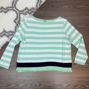 Crown & Ivy Striped Top Size Petite Small